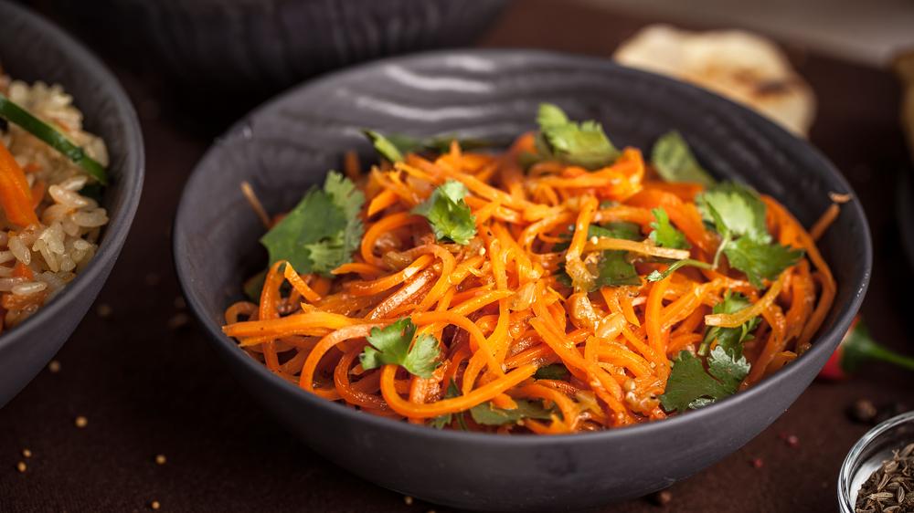 Корейская морковь с луком рецепт