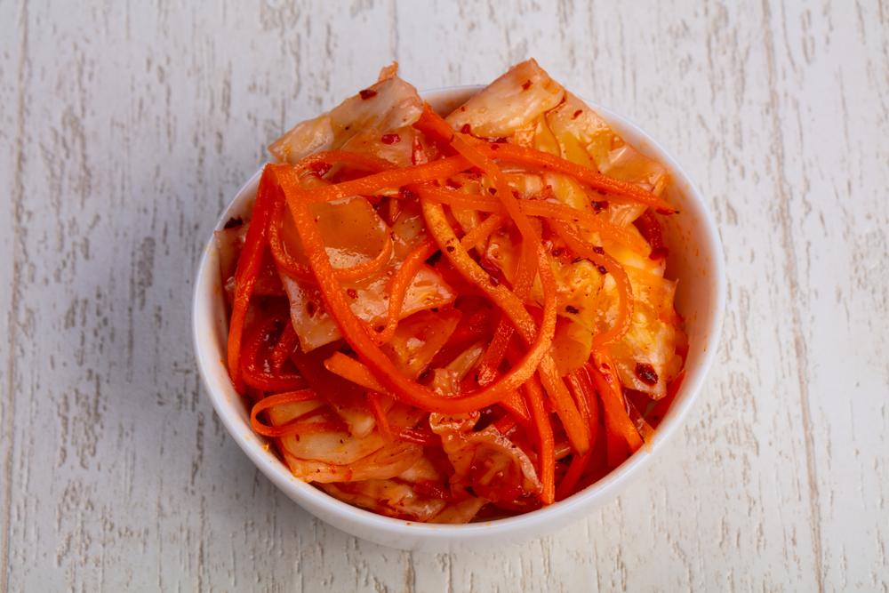 Корейская морковь с капустой рецепт