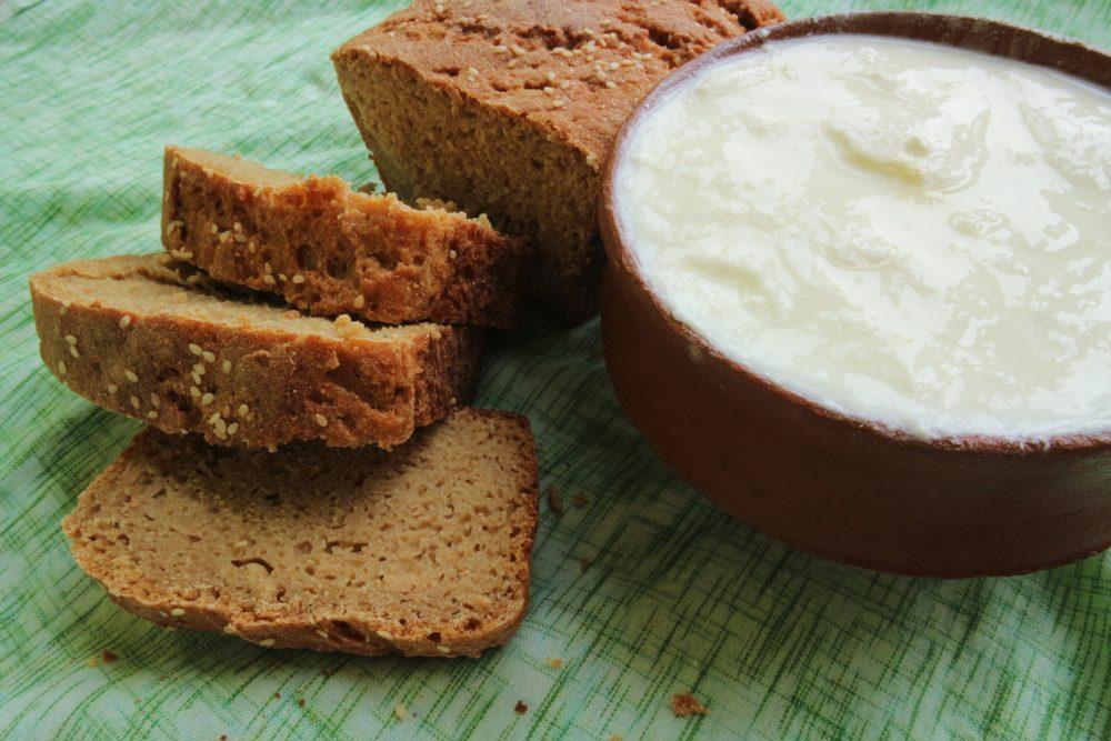 Хлеб на кефире рецепт