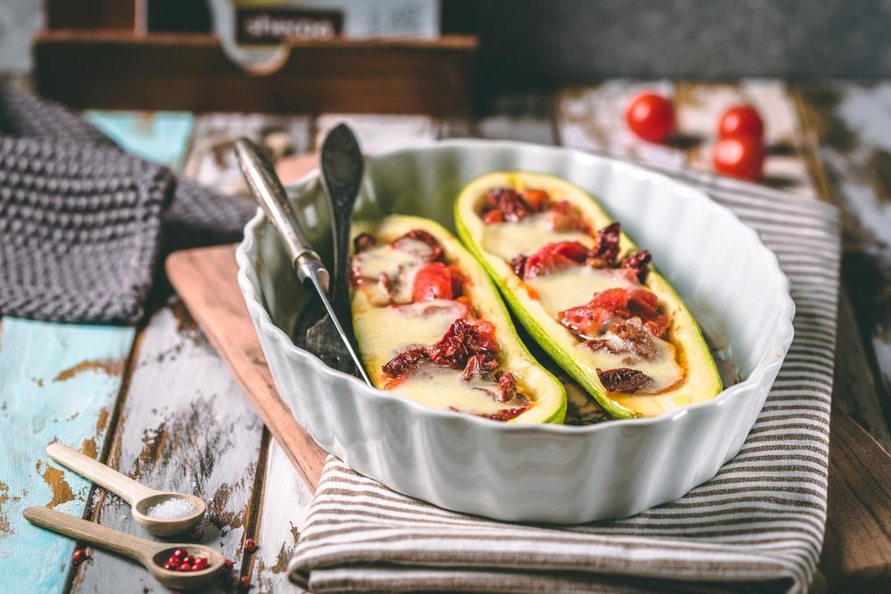 Кабачки-лодочки рецепт