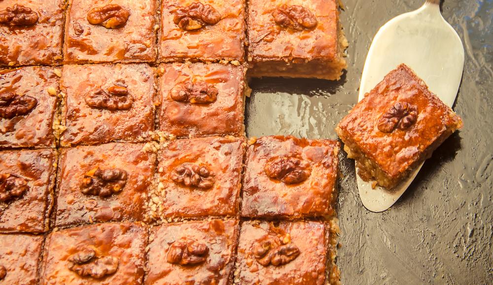 Пахлава азербайджанская рецепт