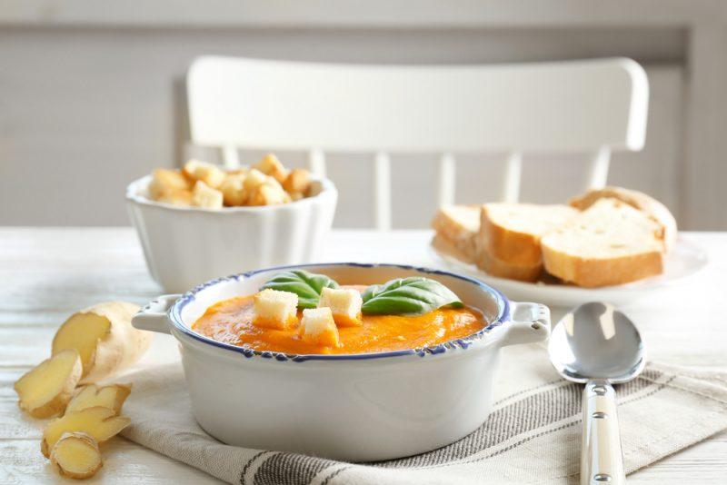 Апельсиново-имбирная запеканка рецепт