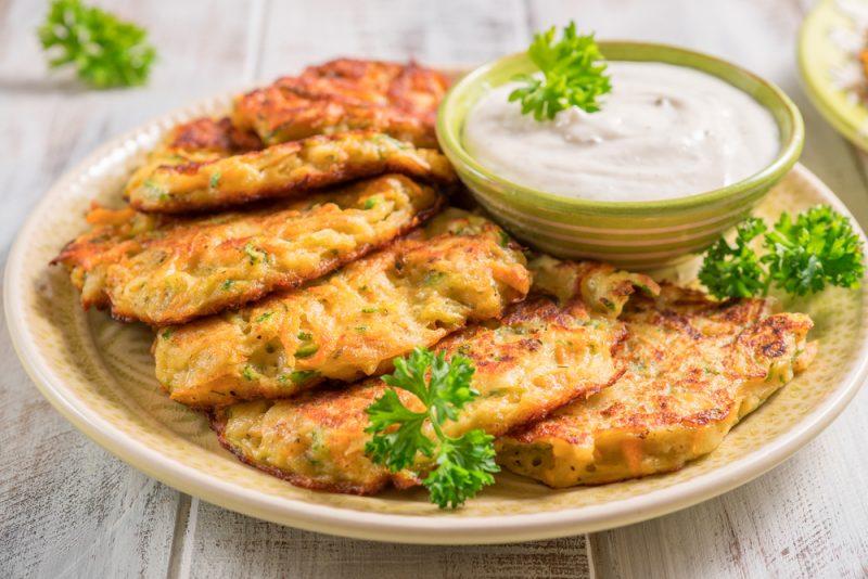 Оладьи кабачковые с картофелем рецепт