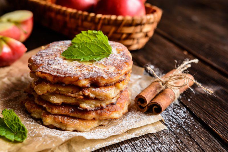 Оладьи кабачковые с яблоками рецепт