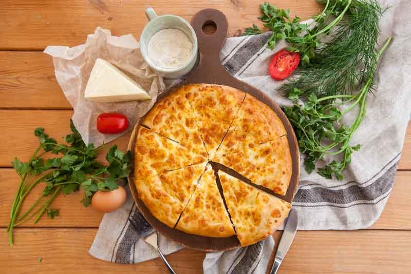Быстрые лепешки с сыром рецепт