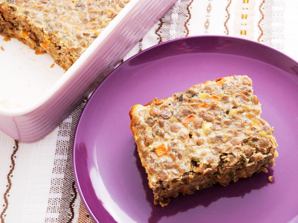 Чечевичная запеканка с сыром рецепт