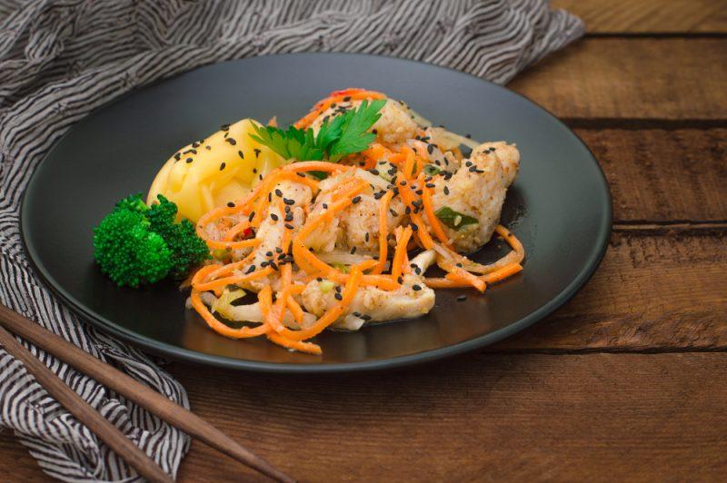 Цветная капуста по-корейски рецепт