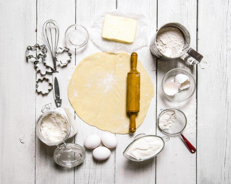Дрожжевое тесто на сметане рецепт