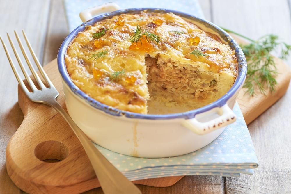 Камбала в сырном суфле рецепт