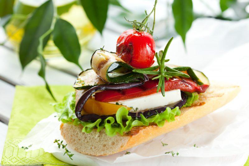 Канапе из овощей-гриль рецепт