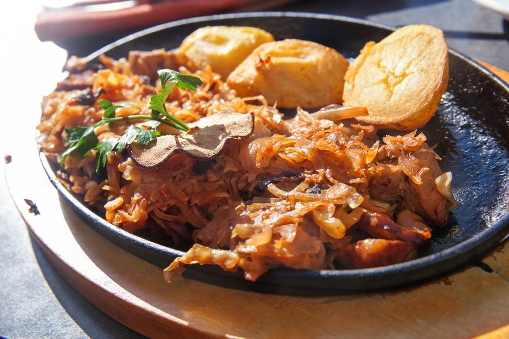 Картофель жаренный с капустой в мультиварке рецепт
