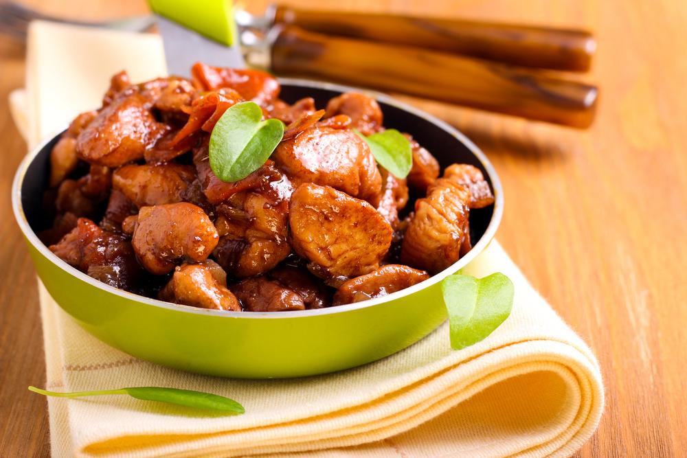 Куриная грудка в соевом соусе рецепт