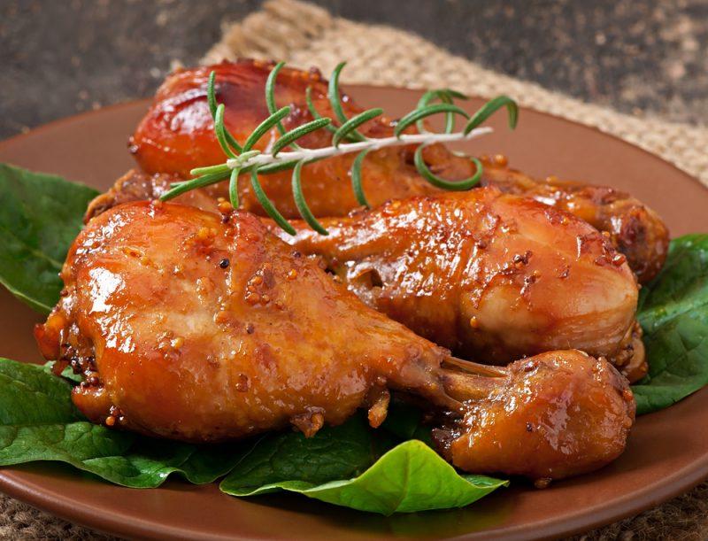 Куриные голени в меде рецепт