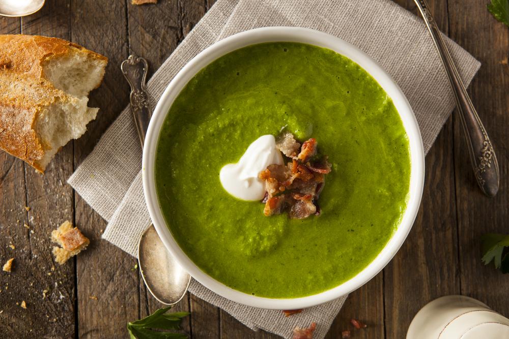 Летний крем-суп рецепт