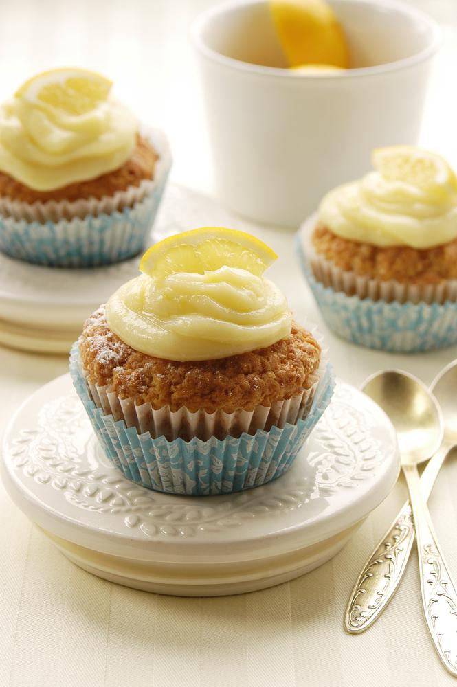 Лимонно-творожный кекс фото
