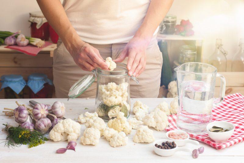 Маринованная цветная капуста рецепт
