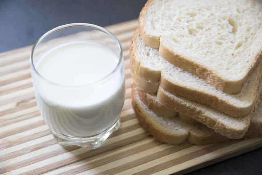 Молочный хлеб фото