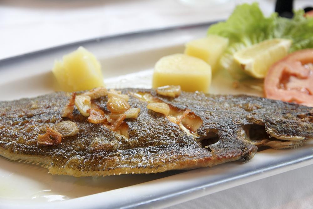Морская рыба с картофелем рецепт