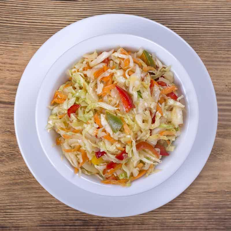 Салат из болгарского перца и моркови рецепт