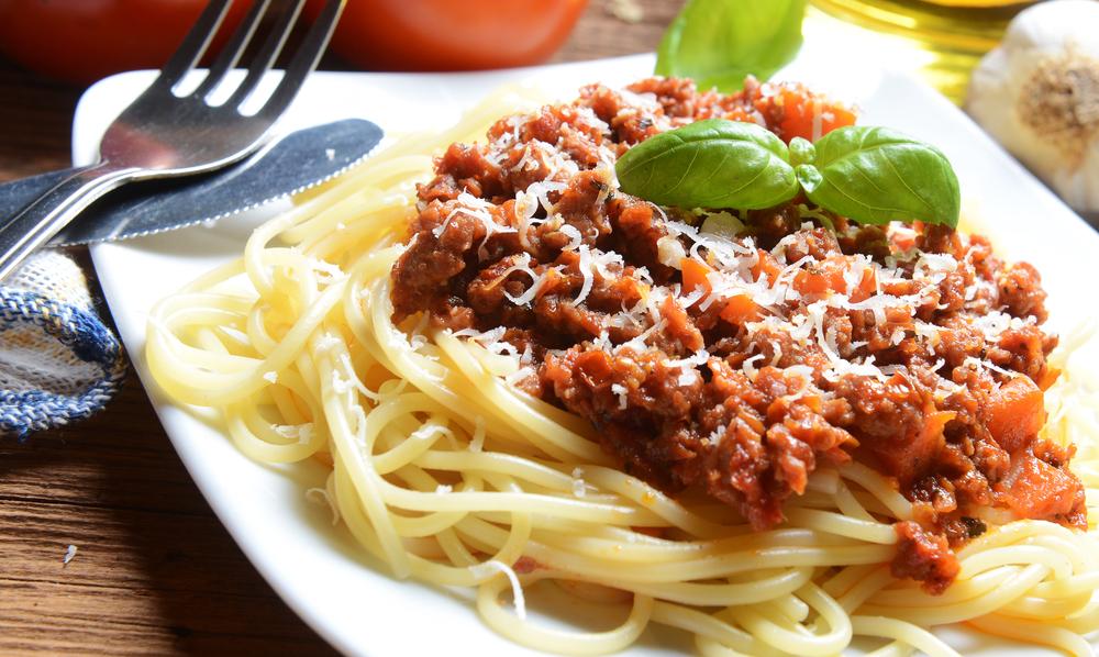 Спагетти с мясом рецепт
