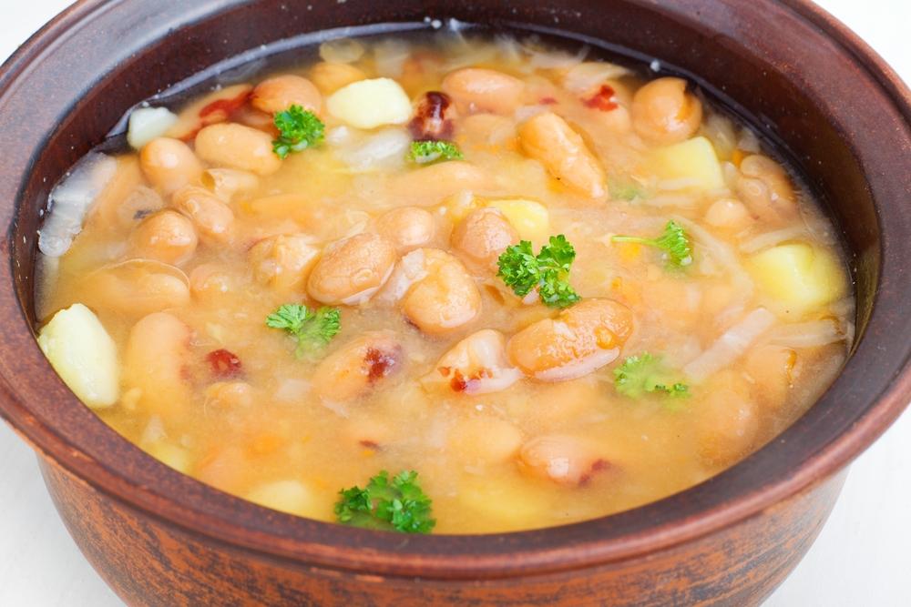 Суп из консервированной фасоли рецепт