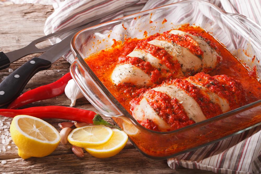 Филе куриное в томатном соусе фото