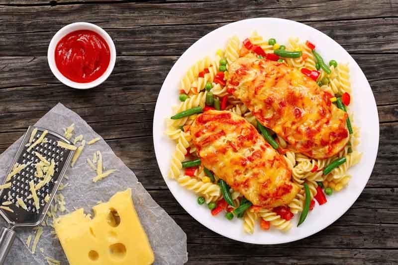 Отбивные с помидорами рецепт