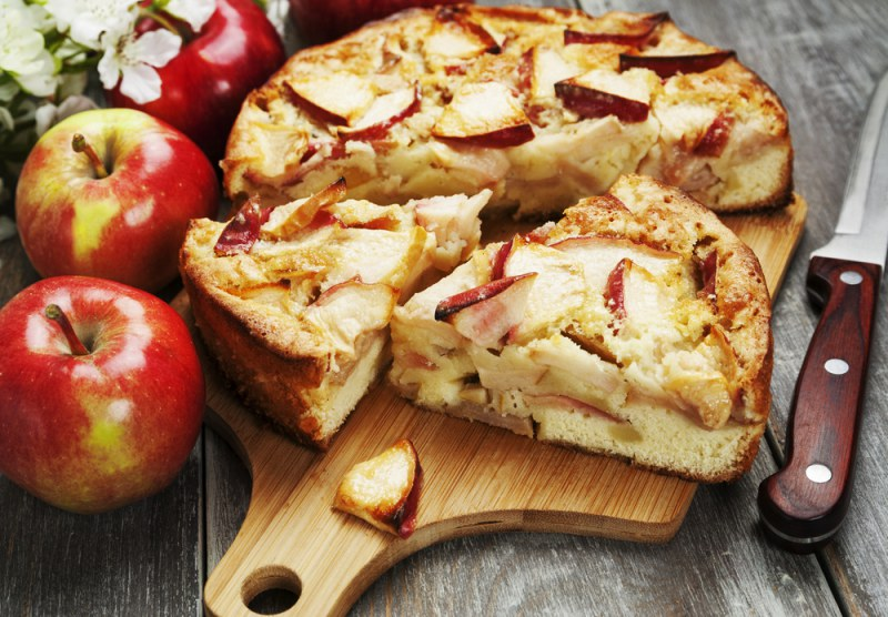 Рецепт пирог с яблоками картинки нерв