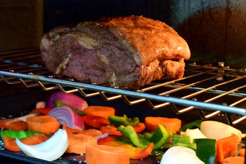 Мясо гриль с овощами в духовке рецепт с фото #2