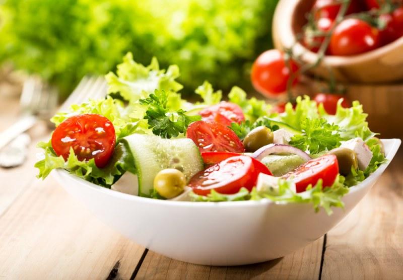 смешанный салат простой рецепт