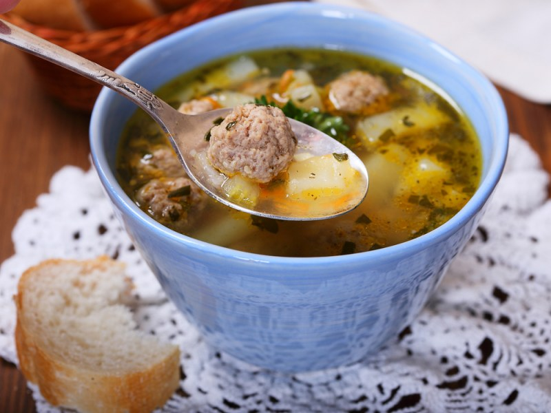 Суп из фрикаделек рецепт с фото