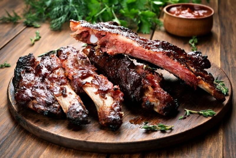 Свиные ребрышки в духовке - как быстро и вкусно приготовить свиные ребрышки