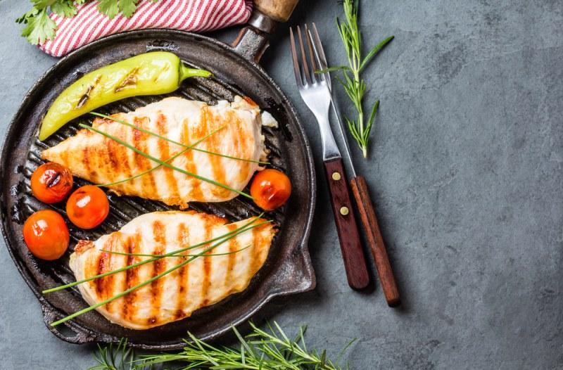 рецепты вторых блюд из куриного филе
