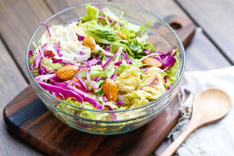 Рецепты овощных диетических салатов