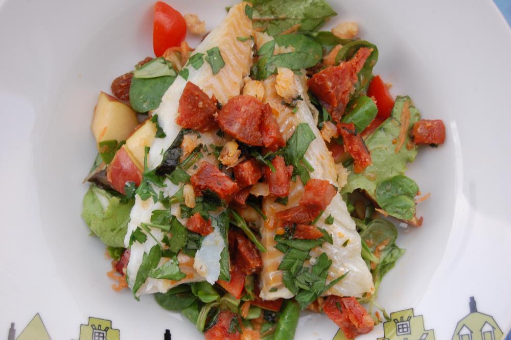 Канадский рыбный салат рецепт
