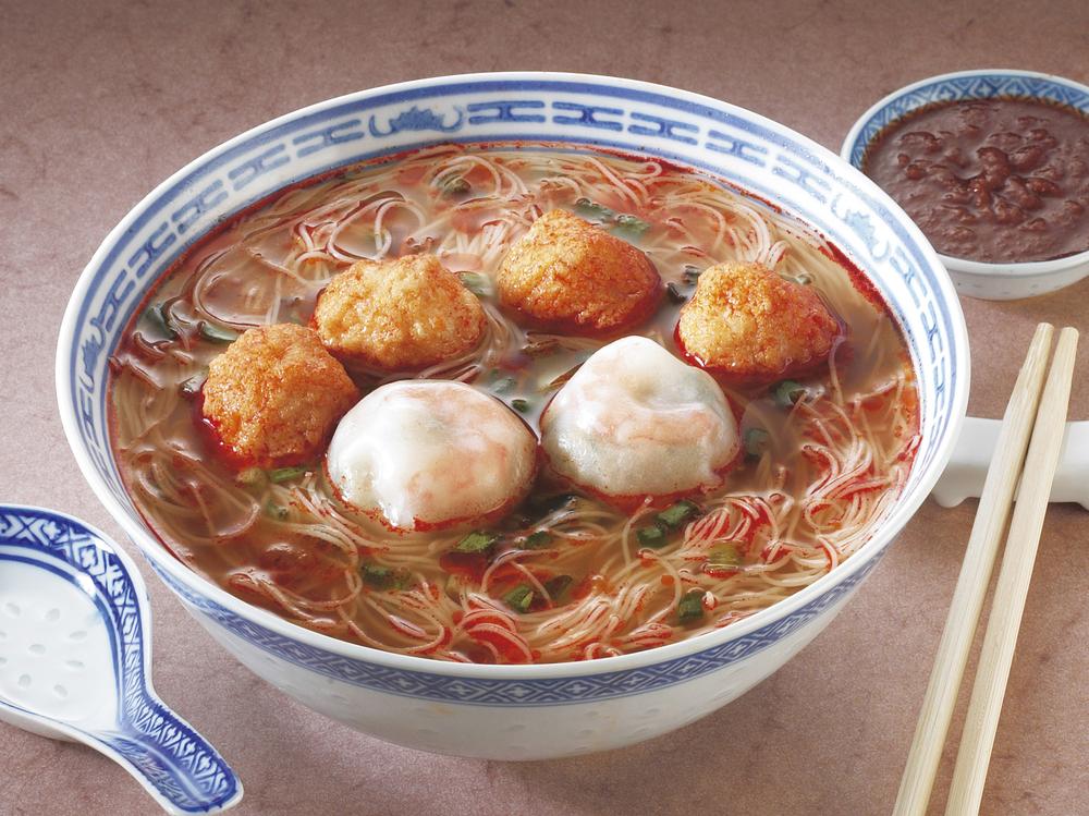 Китайский рыбный суп фото