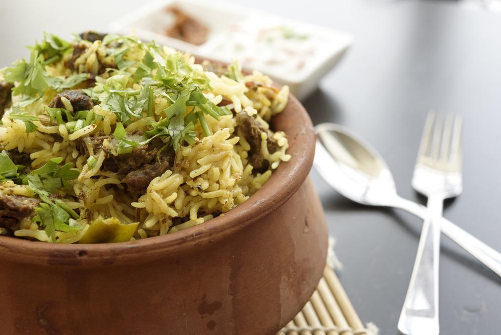 Мясо с рисом в горшочках фотография