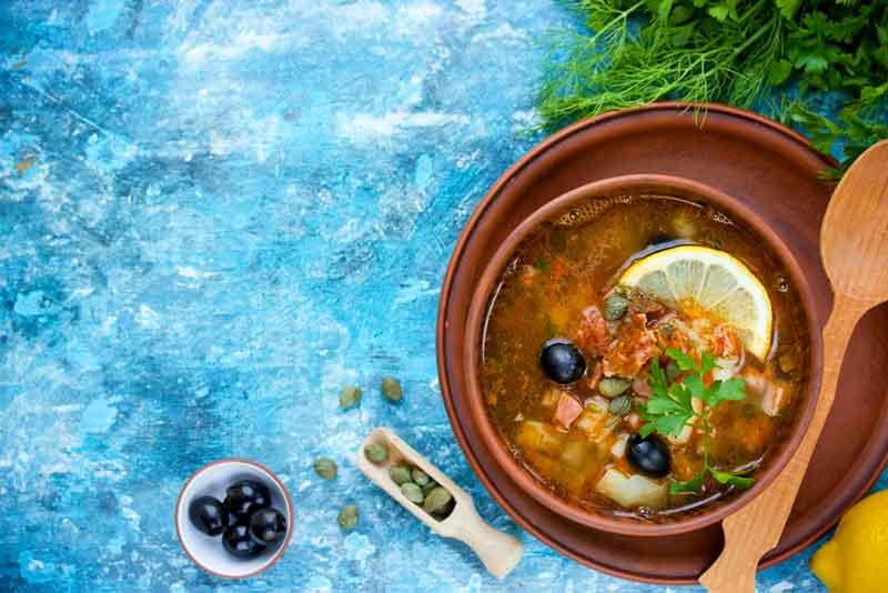Солянка с квашеной капустой рецепт