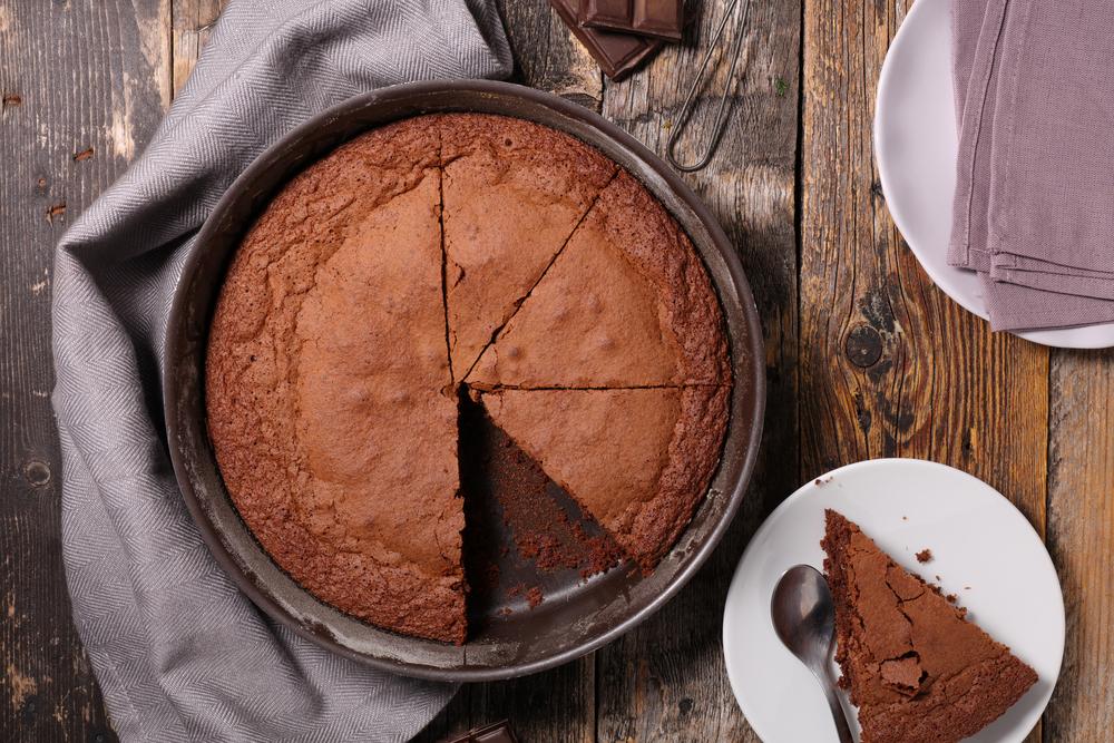 Шоколадный бисквит рецепт фото