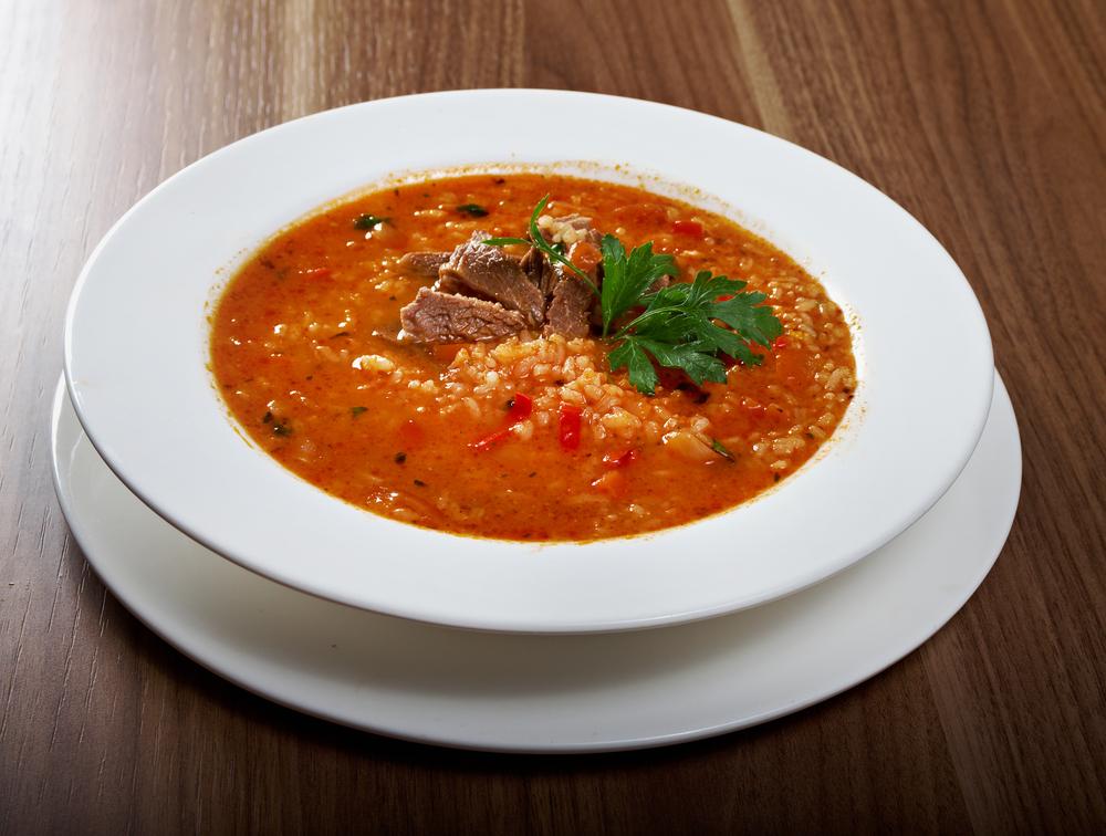 Как приготовить суп с хмели-сунели 9