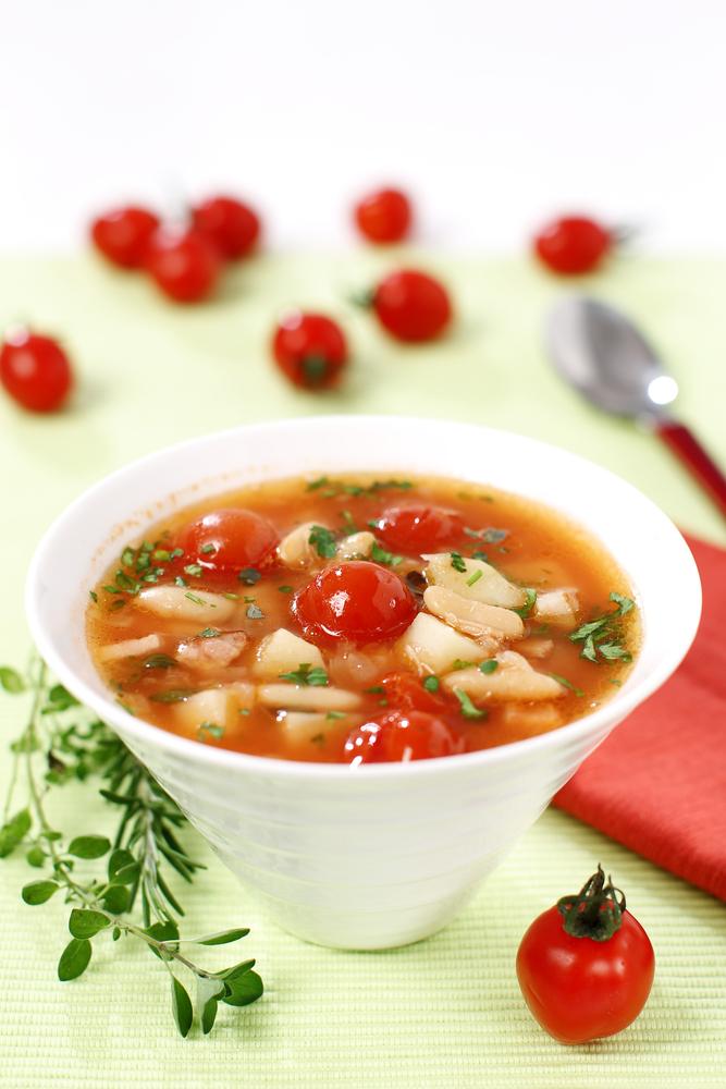 томатный суп с судаком рецепт