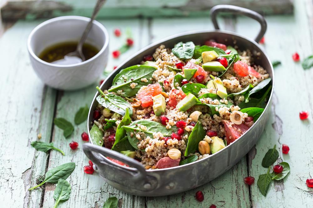 Винегрет с лососем и авокадо рецепт