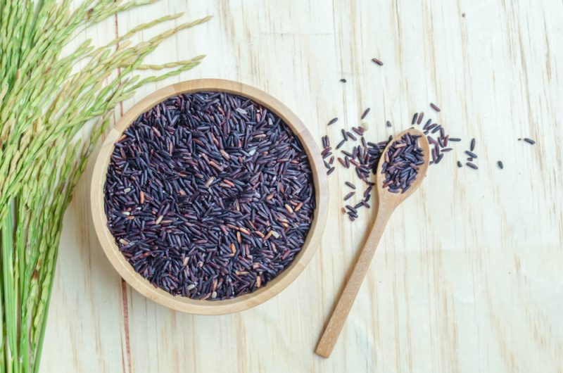 Рецепты черного риса фото