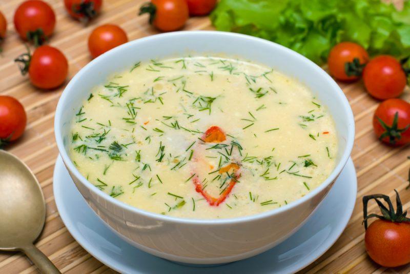 Кабачковый суп со сметаной и молоком рецепт