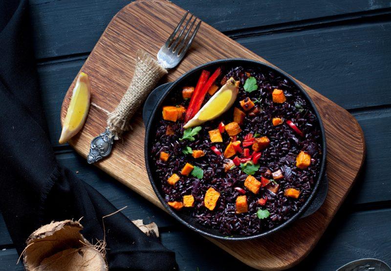 Как правильно готовить черный рис фото