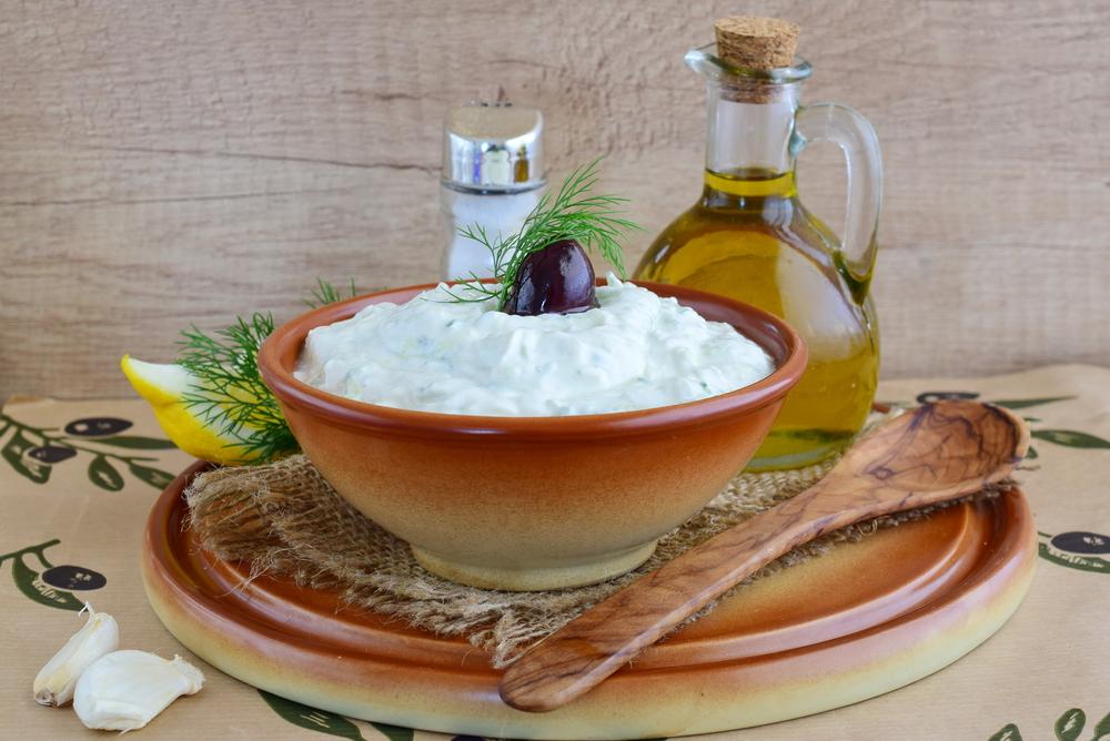 Кефирный соус с мятой рецепт