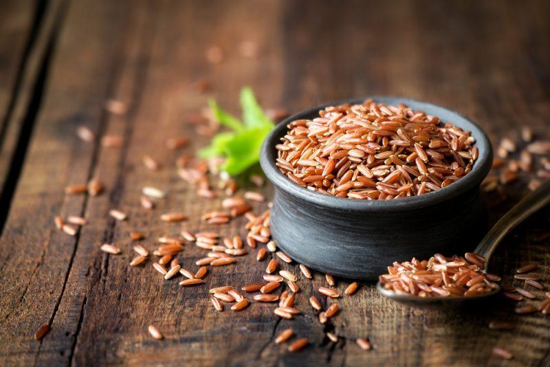 Как приготовить красный рис рецепт