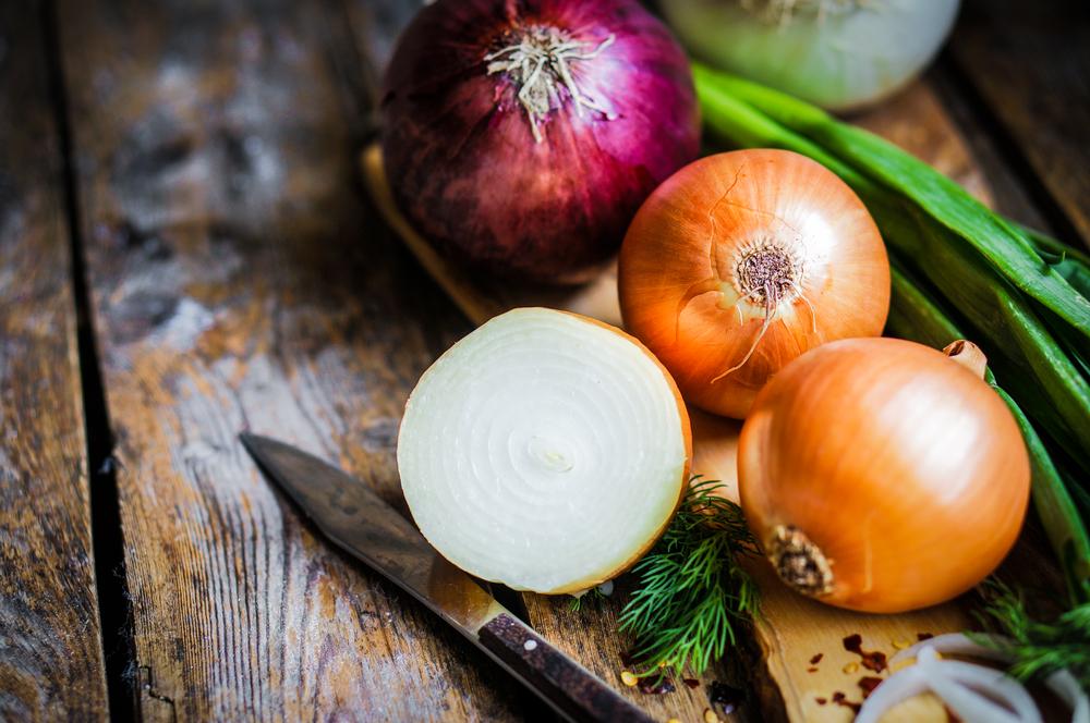 Лук для греческого салата рецепт