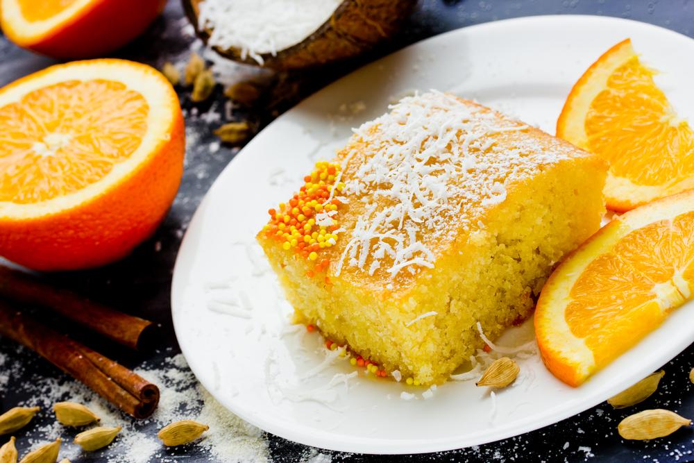 Апельсиновый пирог фото