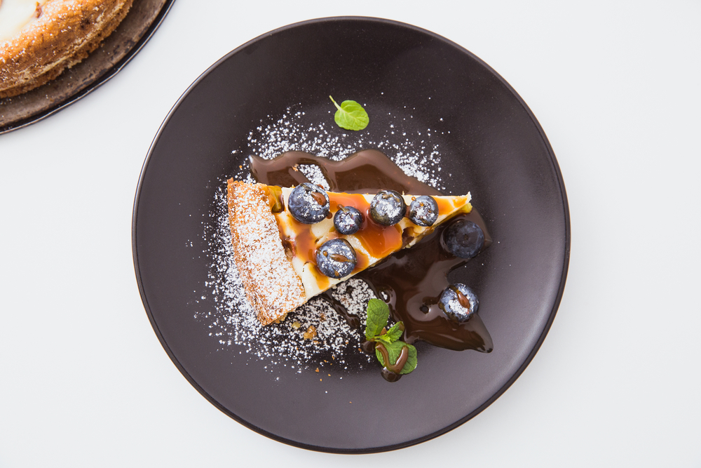 Пирог с черникой и сметаной рецепт